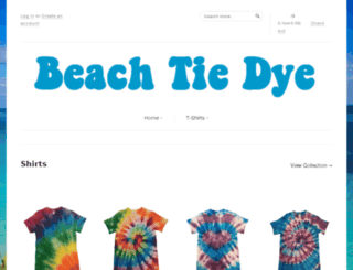 beachtiedye.com screenshot