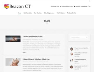 beacon-ct.org screenshot