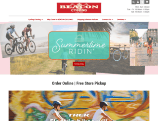 beaconcycling.com screenshot
