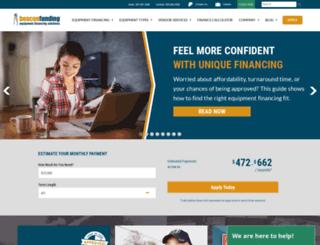 beaconfunding.com screenshot