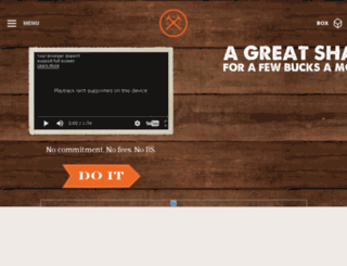 beacons.dollarshaveclub.com screenshot