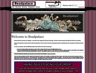 beadpalace.co.za screenshot