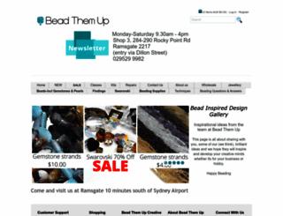 beadthemup.com.au screenshot