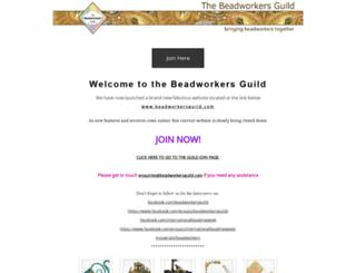 beadworkersguild.org.uk screenshot