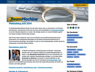 beammachine.net screenshot