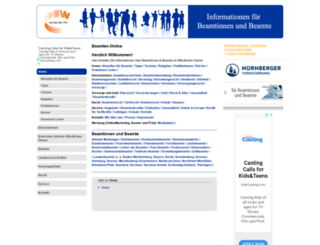 beamten-online.de screenshot
