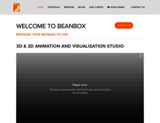 beanboxanimation.co.uk screenshot