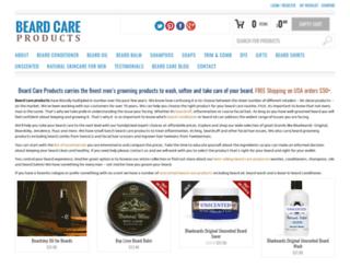 beardcareproducts.com screenshot