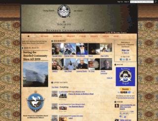 beardedgents.com screenshot