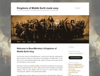 beardmonkey.wordpress.com screenshot
