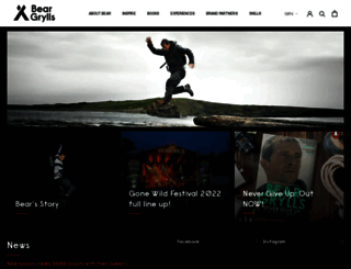 beargrylls.com screenshot