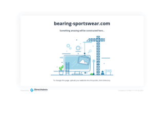 bearing-sportswear.com screenshot