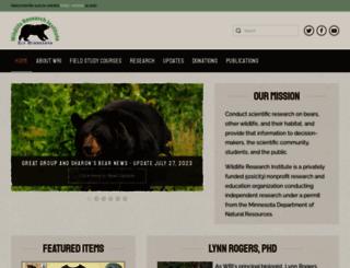 bearstudy.org screenshot