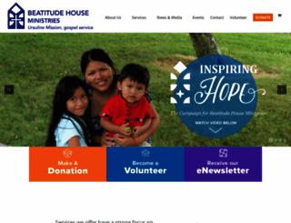 beatitudehouse.com screenshot