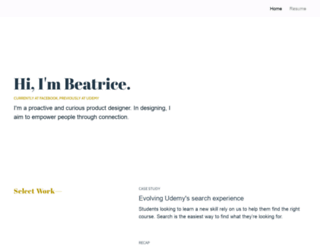 beatricelaw.ca screenshot