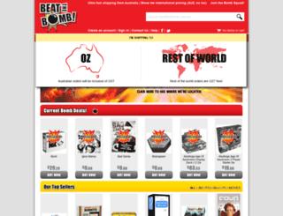 beatthebomb.com.au screenshot