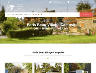 beau-village.com screenshot