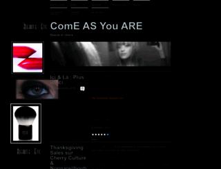beauteetc.wordpress.com screenshot