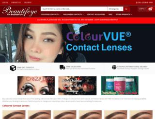 beautifeye.co.uk screenshot