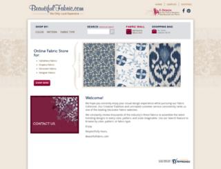 beautifulfabric.com screenshot