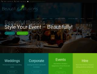 beautifulillusions.com.au screenshot
