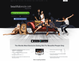 beautifulpeople.net screenshot