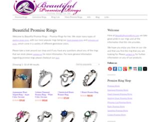 beautifulpromiserings.com screenshot
