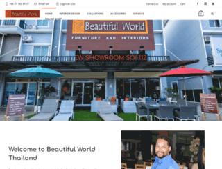 beautifulworldthailand.com screenshot