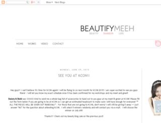 beautifymeeh.com screenshot