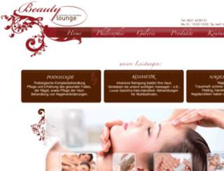 beauty-lounge-mannheim.de screenshot