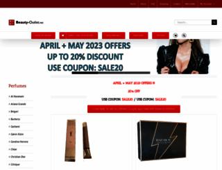 beauty-outlet.net screenshot