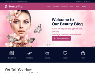beauty.themerex.net screenshot