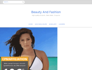 beautyandfashion.biz screenshot