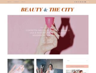 beautyandthecity.it screenshot