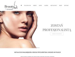 beautyart.pl screenshot