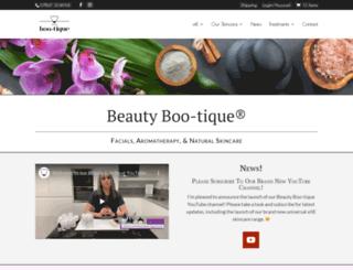 beautyboo-tique.co.uk screenshot