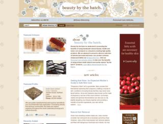 beautybythebatch.com screenshot