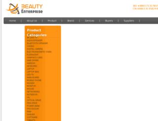 beautyenterprise.net screenshot