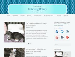 beautyfindsforme.wordpress.com screenshot
