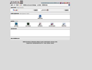 beautyhealthandpersonalcare.klikklik.co.uk screenshot