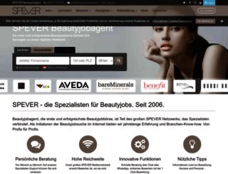 beautyjobagent.de screenshot