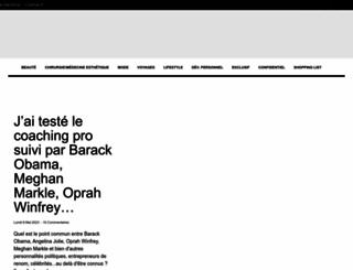 beautylicieuse.com screenshot