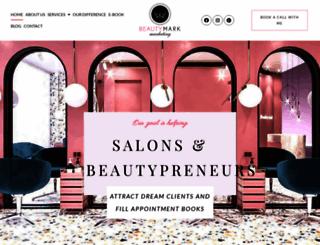beautymarkmarketing.com screenshot