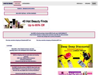 beautynet.co.nz screenshot