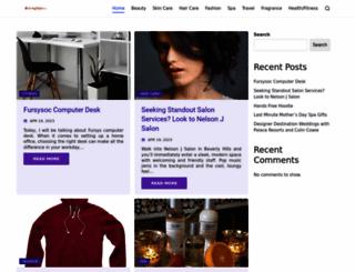 beautynewsla.com screenshot