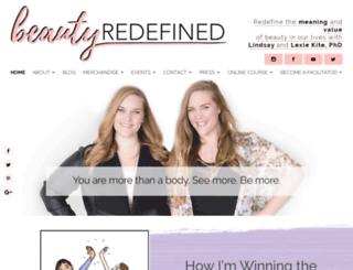 beautyredefined.net screenshot