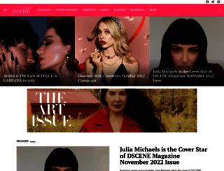 beautyscene.net screenshot