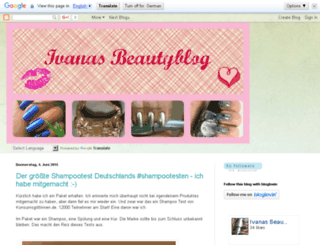 beautyseeker-ivana.blogspot.com screenshot
