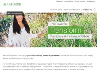 beautywellnessnews.arbonne.com screenshot