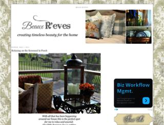 beauxrevesamore.blogspot.com screenshot